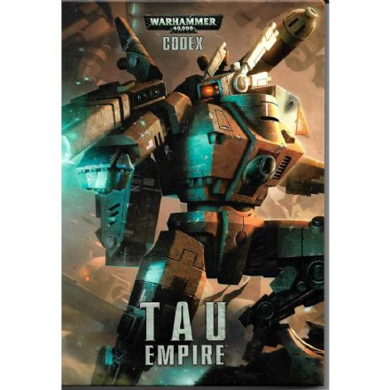 Tau Empire Codex Rulebook 2012 Hardback